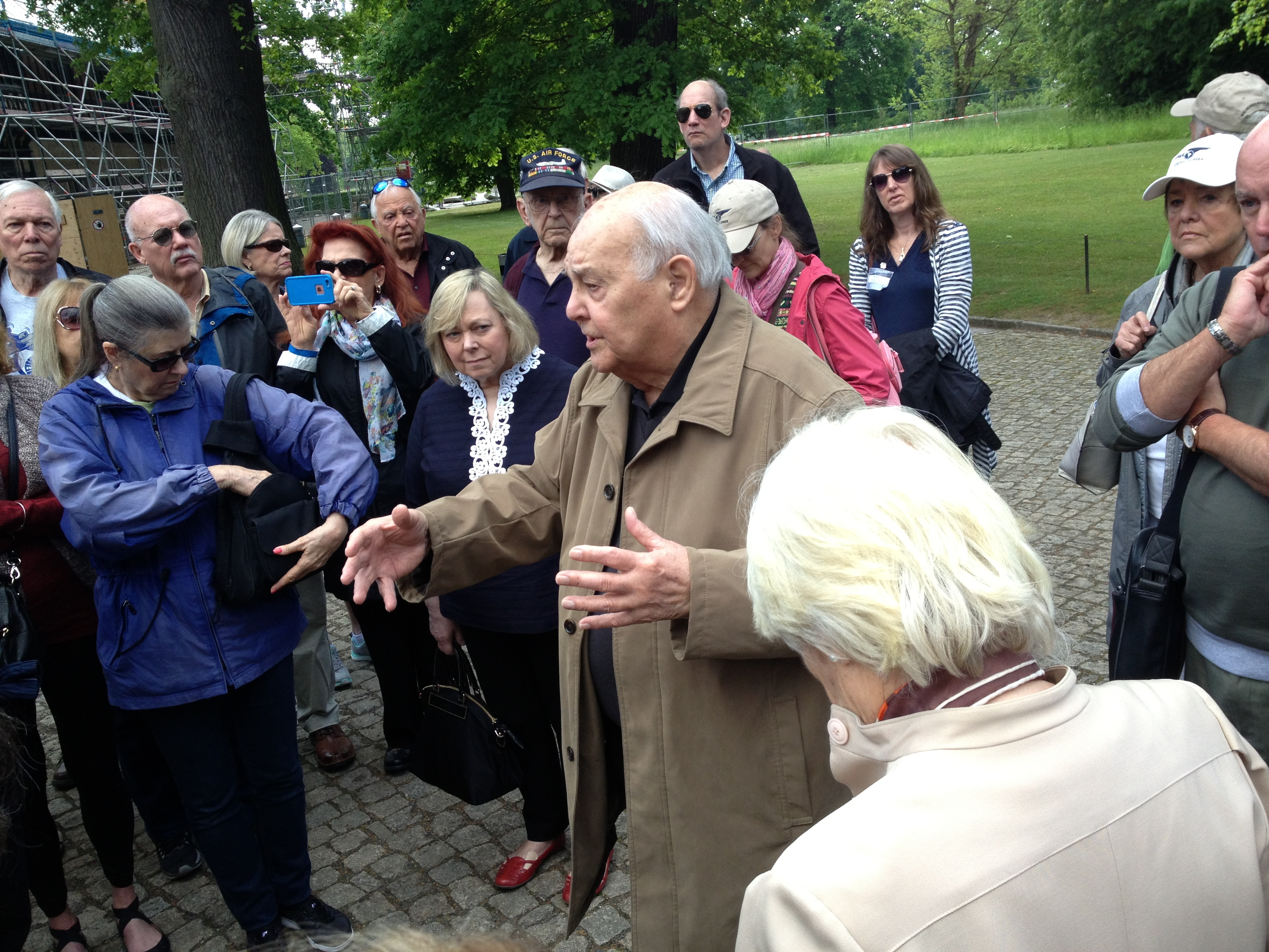 Don Cooper at Potsdam